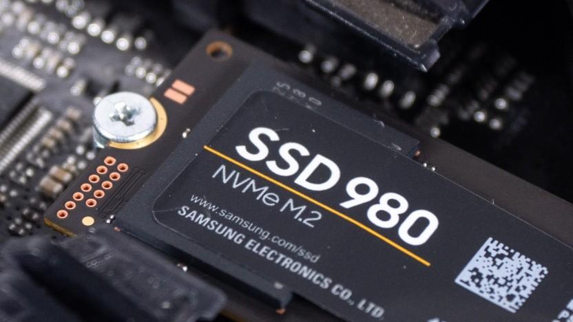Samsungs SSD 980 in einem M.2-Slot