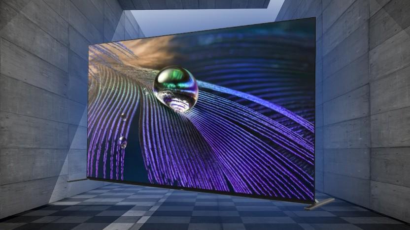 Der A90J ist Sonys erster verfügbarer neuer OLED-Fernseher für 2021.