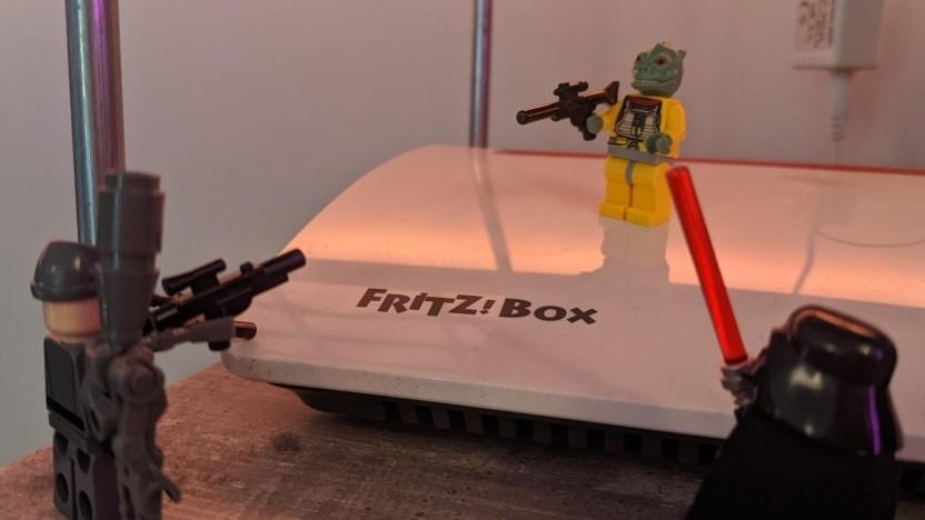 Fritzboxen werden zurzeit vermehrt angegriffen.