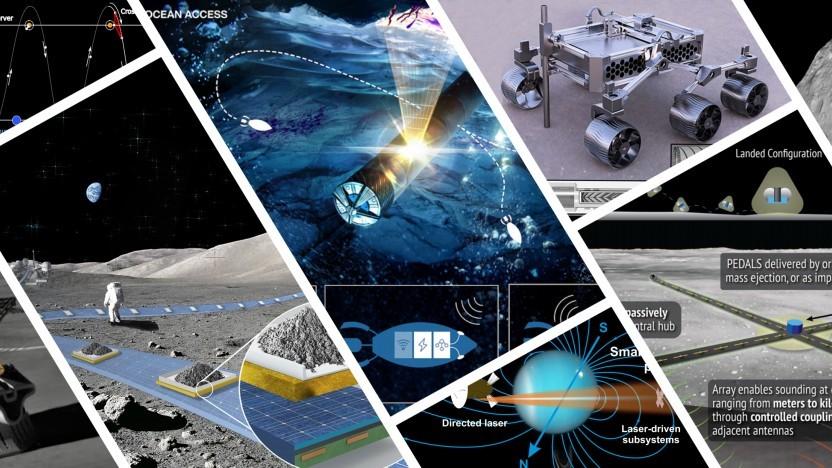 Ob Mond, Mars, Jupiter oder Uranus - die Nasa will alles untersuchen.