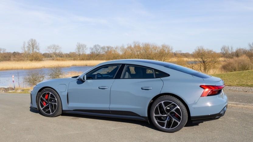 Audi E-Tron GT: Spitzenmodell mit Porsche-Fahrwerk und Quattro-Blister