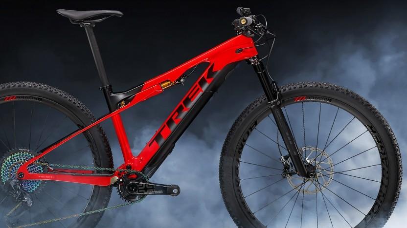 Mountainbike E-Caliber von Trek