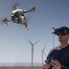 Racing-Drohne mit Video: DJI FPV setzt Drohnenpiloten eine Brille auf