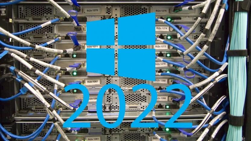 Windows Server 2022 wird auf On-Premises-Hardware installiert.
