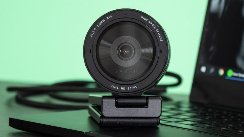 Größer als andere Webcams, aber auch besser: die Razer Kiyo Pro