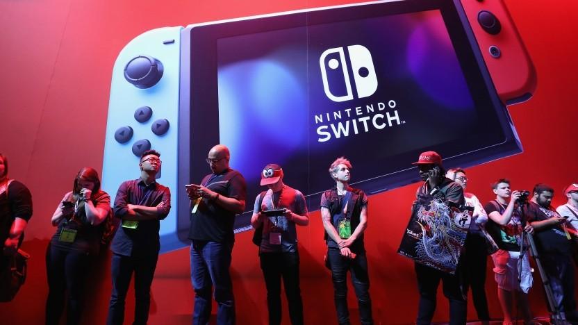 Nintendo Switch auf der Spielemesse E3
