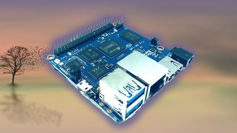 Der BPI-M2 Pro ist ziemlich kompakt.