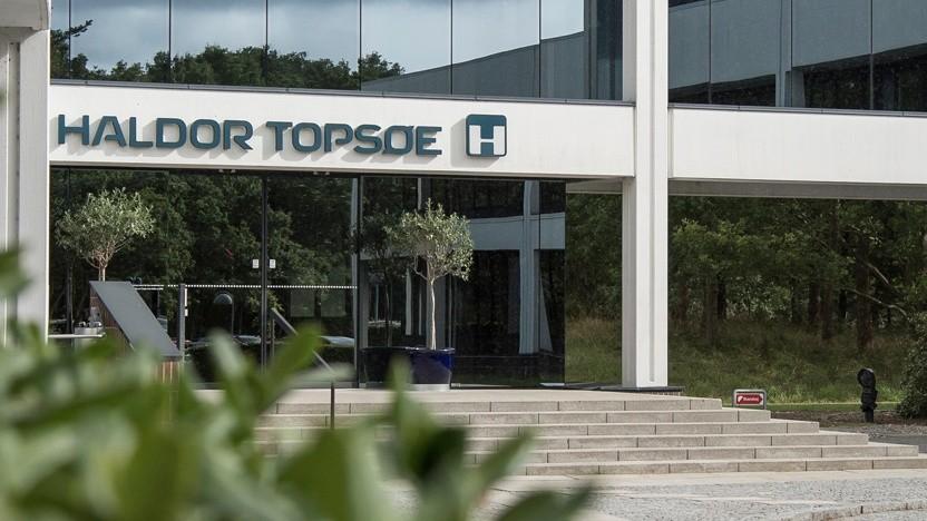 Will in großem Maßstab Produktionsanlagen für grünen Wasserstoff bauen: die dänische Firma Haldor Topsøe.