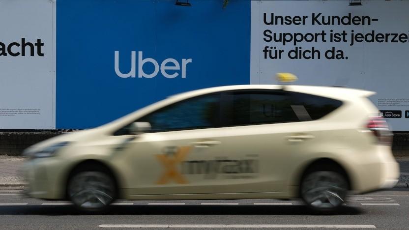 Taxi gegen Uber: Rückkehrpflicht bleibt erhalten.