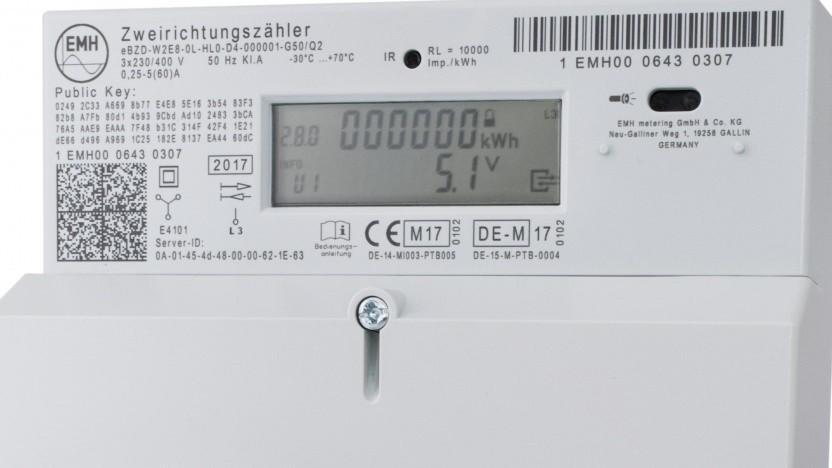 Ein zertifiziertes intelligentes Messsystem mit Smart Meter Gateway von EMH Metering