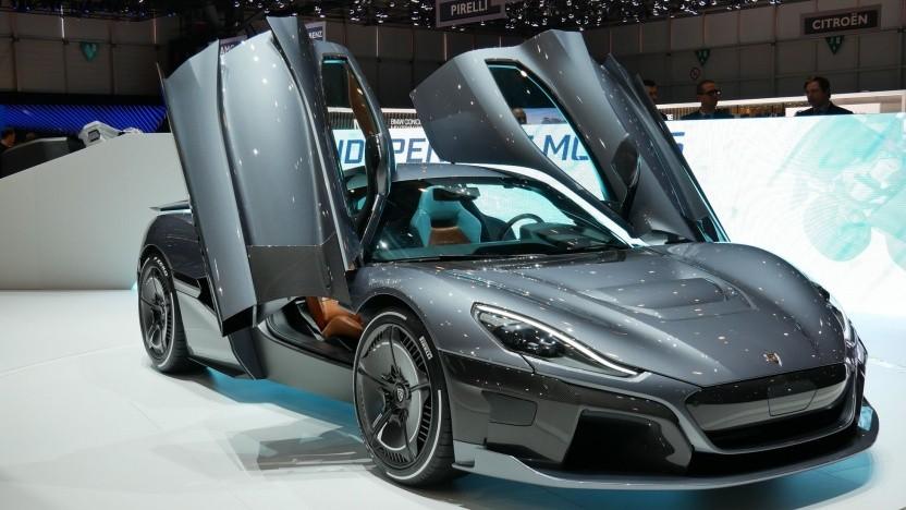 Elektrischer Supersportwagen Rimac Concept Two: richtige Investition