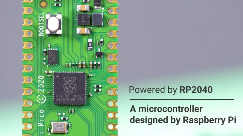Der RP2040-Chip des Raspberry Pi Pico nutzt Tensorflow Lite