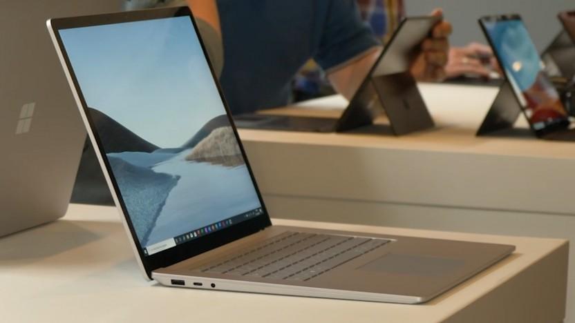 Der Surface Laptop 4 wird wohl wie der hier dargestellte Surface Laptop 3 aussehen.