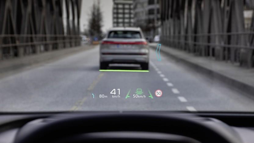 AR-Headup: Warum bremst das Auto?