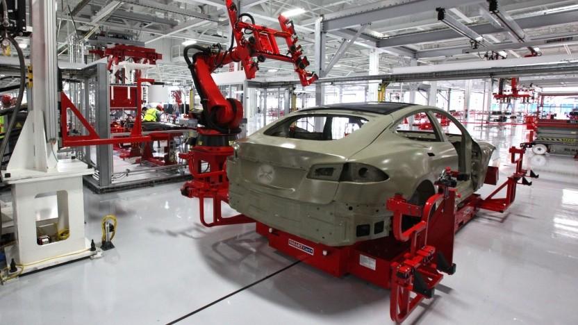 Tesla-Produktion: Elon Musk bereitet die Umstellung auf 4680-Zellen vor.