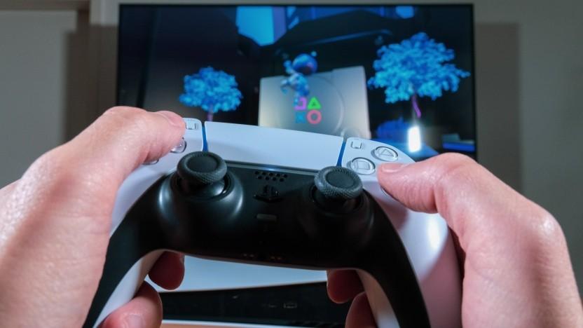 Playstation 5 im Einsatz