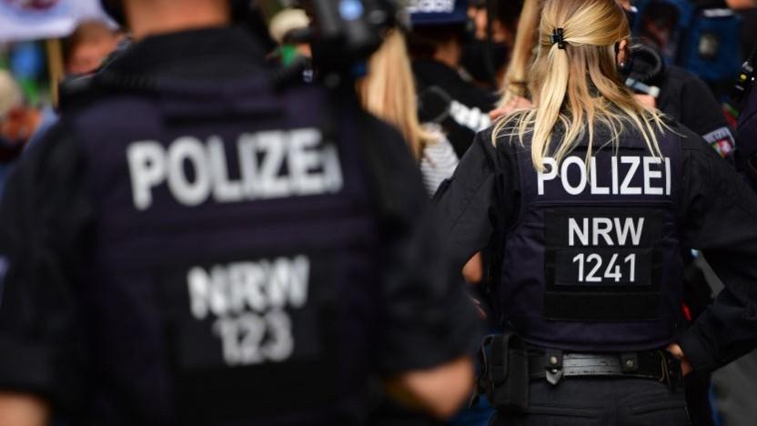 Polizeikräfte in NRW