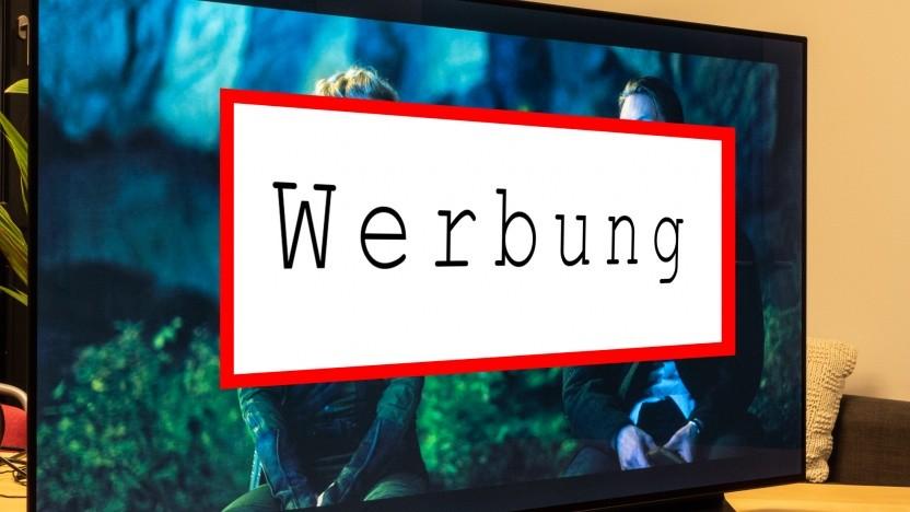 Werbung auf LG-TVs ist für manche Menschen zu penetrant geworden. (Symbolbild)