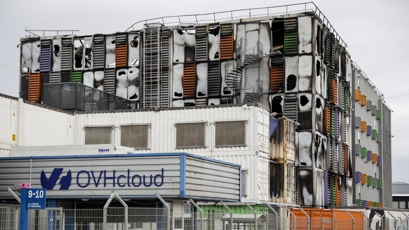 Der Brand bei OVH hat das Rechenzentrum SBG2 komplett zerstört.