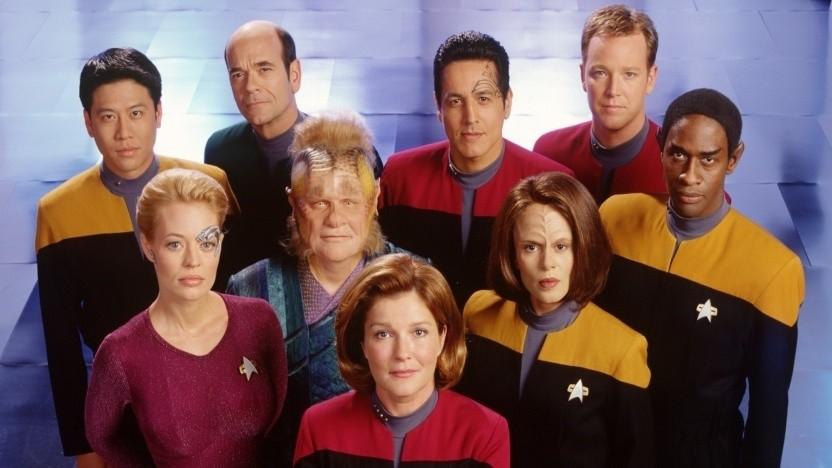 Die Crew der Voyager