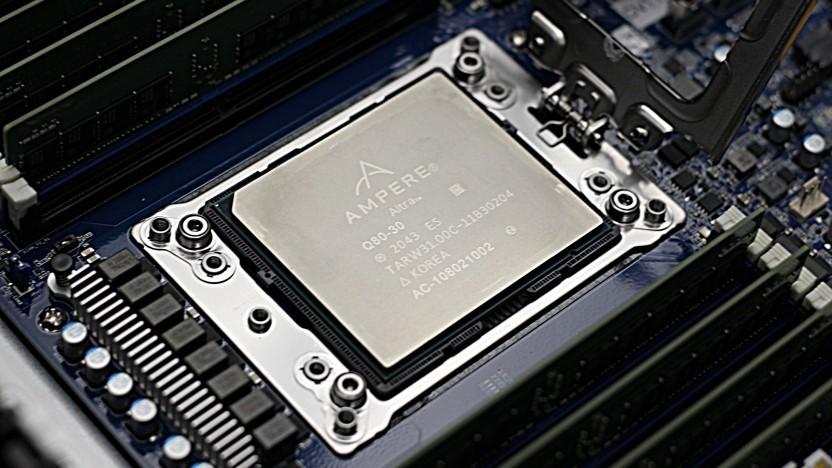 Der Altra Q80-30, das zweitschnellste Modell von Ampere Computing