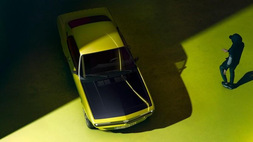 So könnte der vollelektrische Opel Manta aussehen.