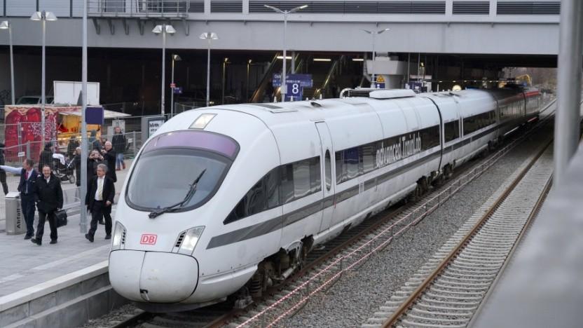 Der Laborzug der Deutschen Bahn - das neue WiFi wird hier nicht getestet