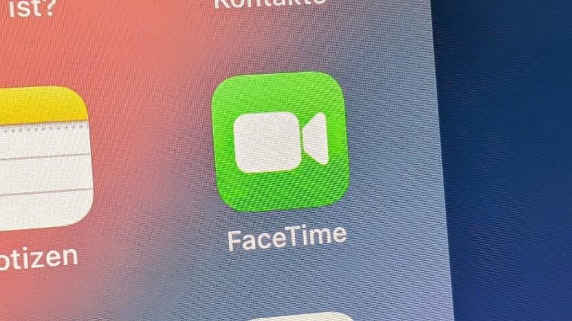 Facetime auf einem iPad