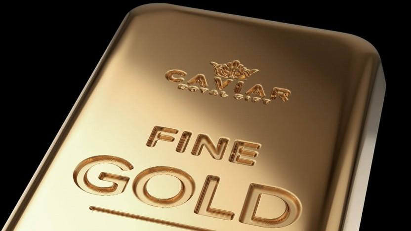Das Gold-Smartphone von Caviar