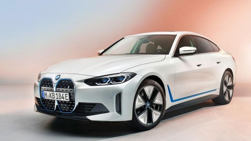 BMWs Schräghecklimousine i4