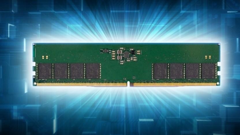 Ein Speichermodul mit DDR5-wie es Alder Lake unterstützt.