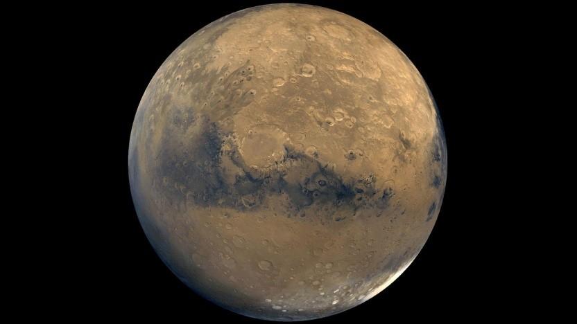 Der Mars: nicht so trocken, wie er scheint