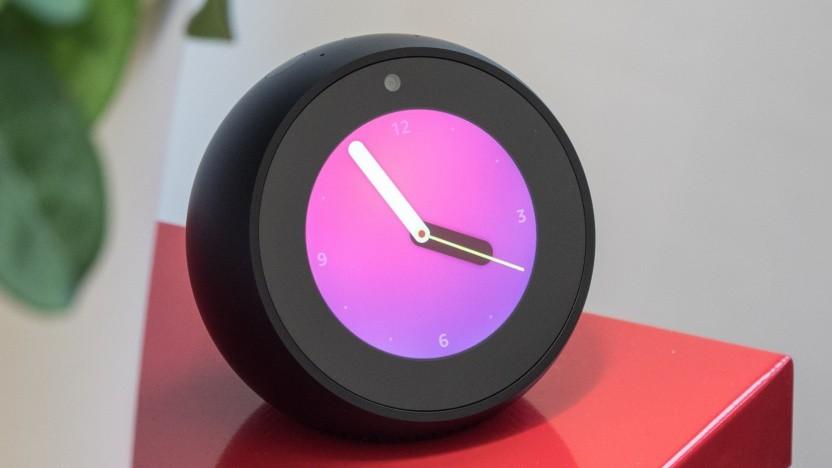 Amazons Echo Spot kann als Überwachungskamera verwendet werden.