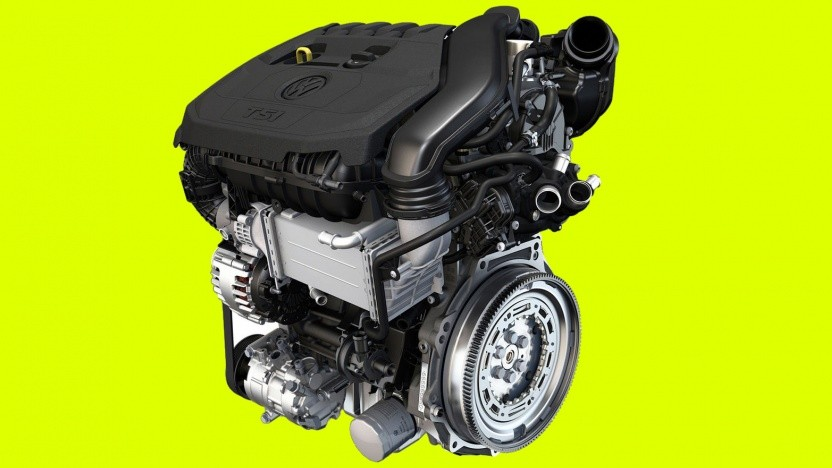 1.5 TSI evo Motor mit 96 kW / 130 PS
