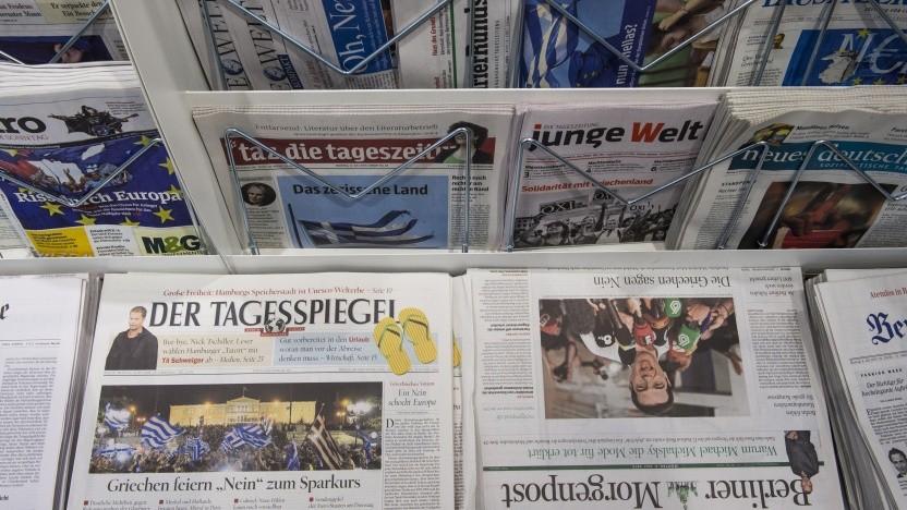 Der digitale Zeitungskiosk der Berliner Bibliotheken bleibt vorerst geschlossen.
