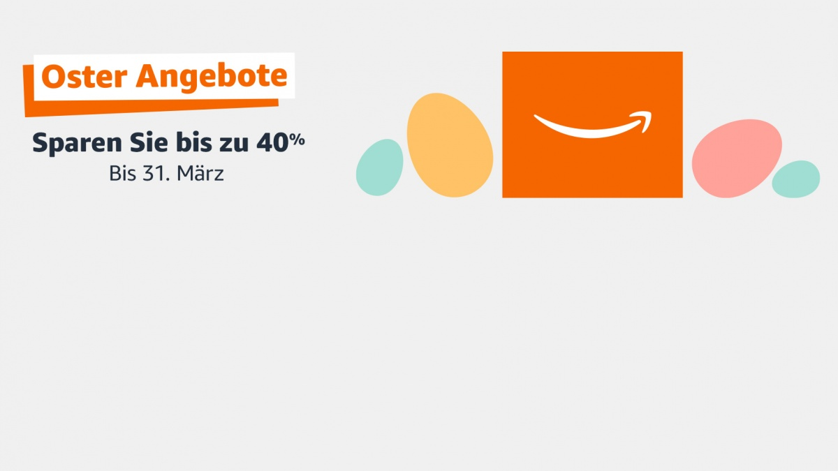 Oster-Angebote bei Amazon - Monitore, Notebooks, Smartphones