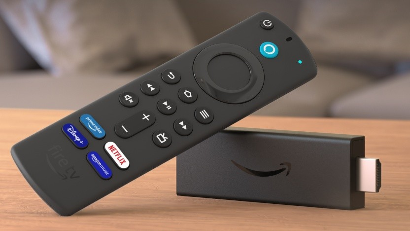 Fire TV Stick mit neuer Fire-TV-Fernbedienung