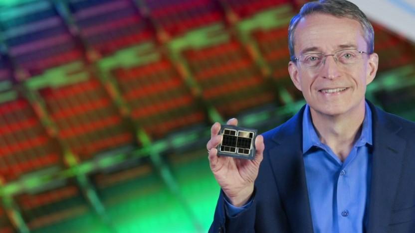 Pat Gelsinger zeigt Ponte Vecchio für Supercomputer.