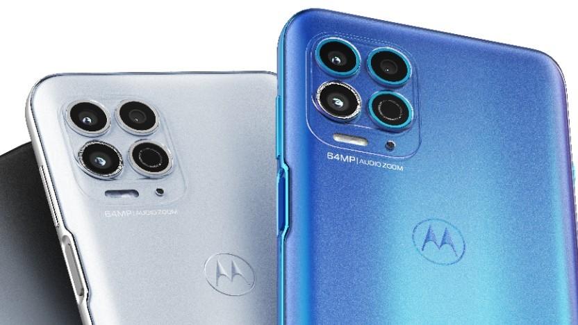 Das Moto G100 von Motorola