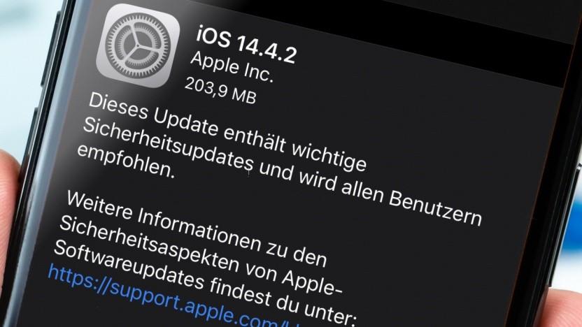 Update auf iOS 14.4.2 ist da