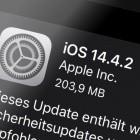 iPhone und iPad: Apple bringt iOS 14.4.2 wegen ausgenutzter Sicherheitslücke