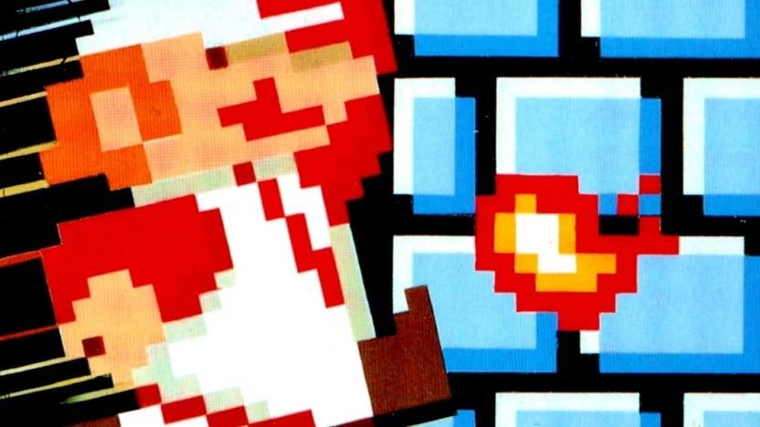 Artwork von Super Mario Bros.