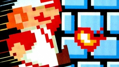 Artwork von Super Mario Bros