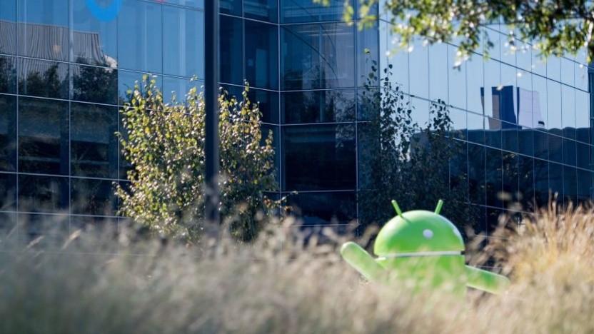 Eine Android-Malware verbirgt sich als System-Update auf dem Telefon.