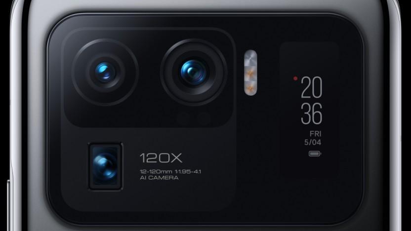 Das Kameramodul des Mi 11 Ultra