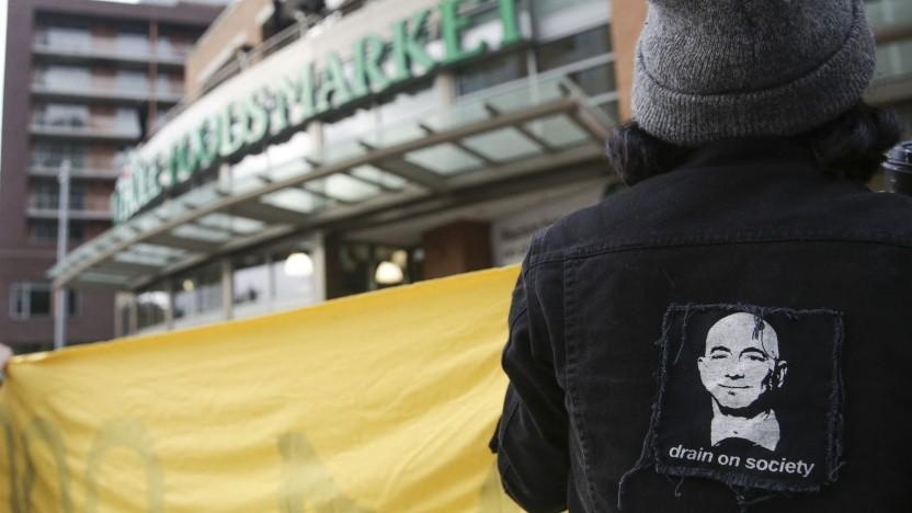 Solidaritätsaktion mit den Amazon-Arbeitern in Bessemer