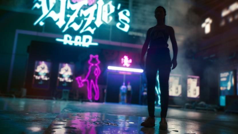Szene aus Cyberpunk 2077 mit Raytracing