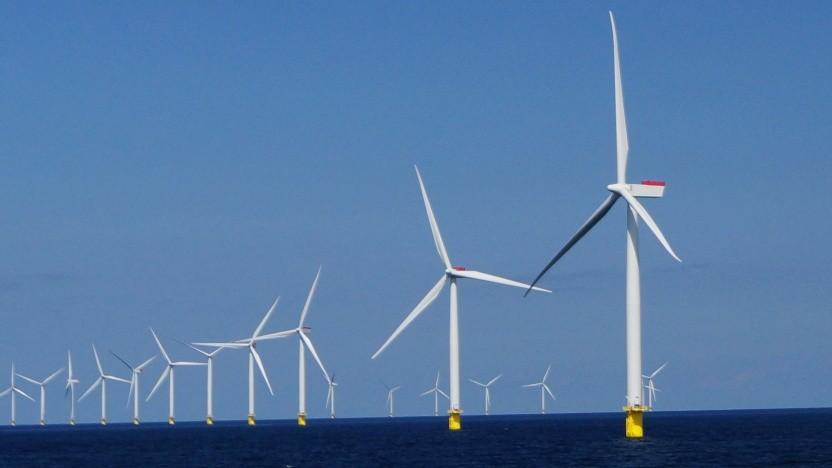 Mit Offshore-Windkraft will der Konzern Ørsted riesige Mengen Wasserstoff produzieren.