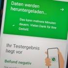 Ab Mitte April: Corona-App kann auch bei Schnelltests warnen