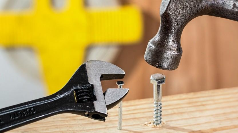 Es hilft, das richtige Werkzeug zu benutzen.